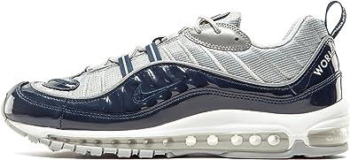Nike Men S Air Max 98 Supreme Obsidian Obsidian Reflect Silver