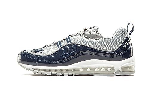 Nike 844694-400, Zapatillas de Deporte para Hombre, Azul Obsidian/Reflect Silver
