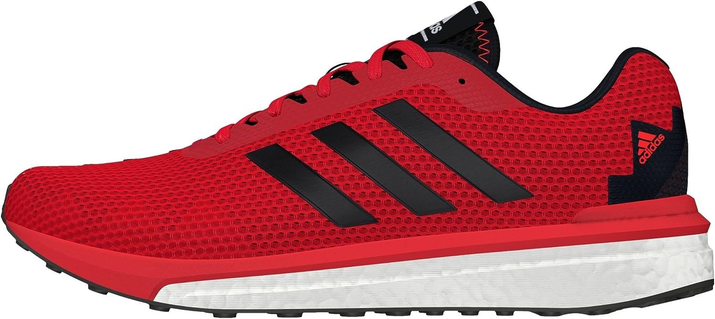 adidas Vengeful M, Zapatillas de Running para Hombre, Rojo (Rojray/Negbas/Rojsol), 50 2/3 EU: Amazon.es: Zapatos y complementos