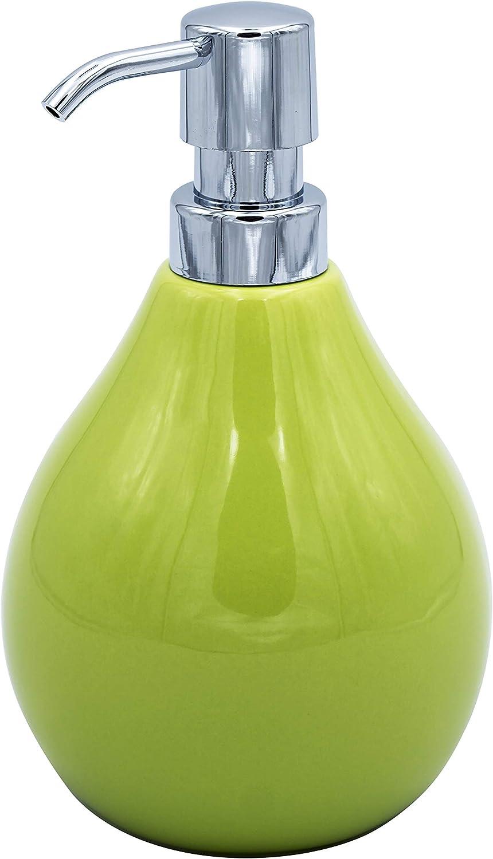 Approx RIDDER Belly soap Dispenser 10 x 10 x 17 cm Green