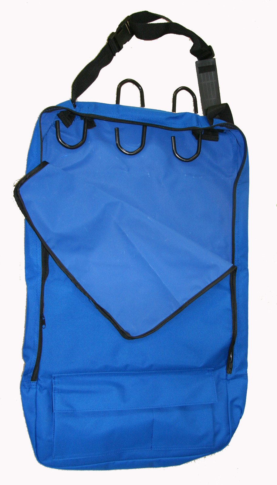 Deluxe Bridle Halter Tote Bag with Removable Tack Rack Royal Blue