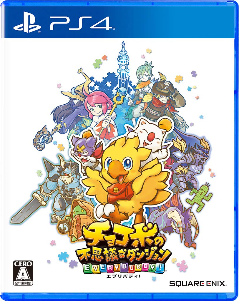 Square Enix Chocobo no Fushigi na Dungeon Every Buddy SONY PS4 PLAYSTATION 4 JAPANESE VERSION