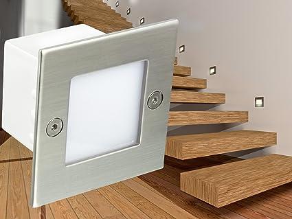 Beleuchtung Treppe led wand einbau leuchten treppen leuchte stufenbeleuchtung piko