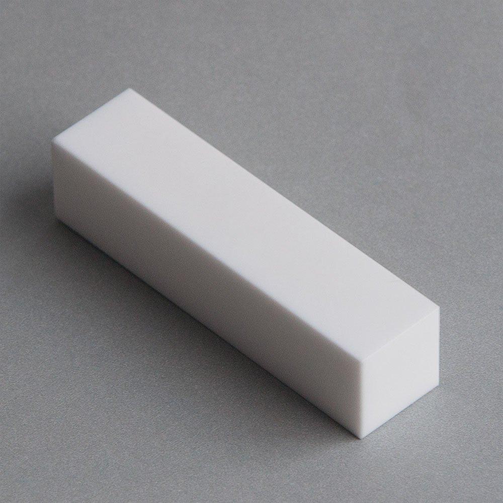 Macor, MAC4-1612, Machinable Ceramic Bar, 1'' X 1'' Square X 12'' Long by Macor