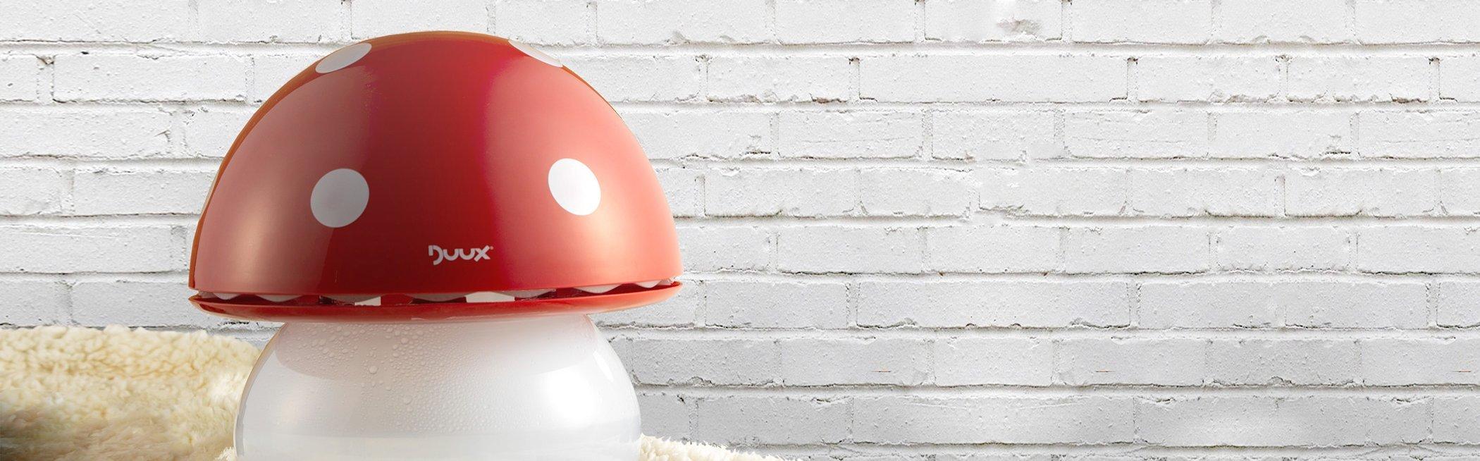 Duux Ultrasonic Air Humidifier - Red Mushroom
