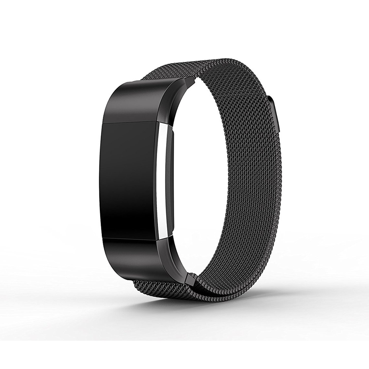 GUNMETAL BLACK Small New Wristband Bracelet Band Strap For FITBIT CHARGE 2 | eBay