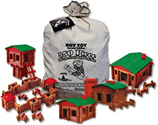 product image for Roy Toy 550 Pc. Deluxe Building Set, Made in The USA, 4 Years & up