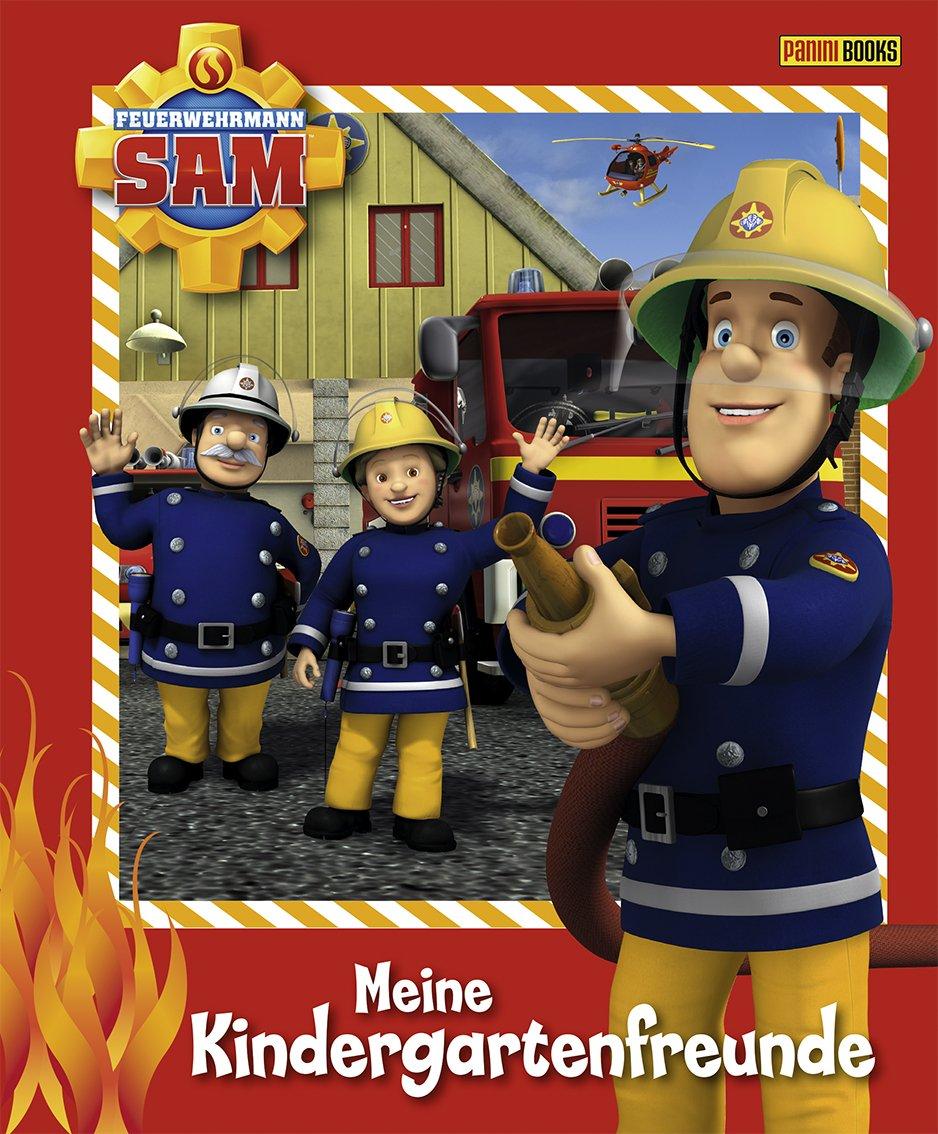 Feuerwehrmann Sam Kindergartenfreundebuch: Meine Kindergartenfreunde Gebundenes Buch – 12. März 2012 Panini 3833224207 empfohlenes Alter: ab 3 Jahre Geschenkband
