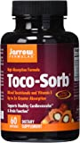 Jarrow Formulas Toco-Sorb, Supports Healthy Cardiovascular & Brain Function, 60 Softgels