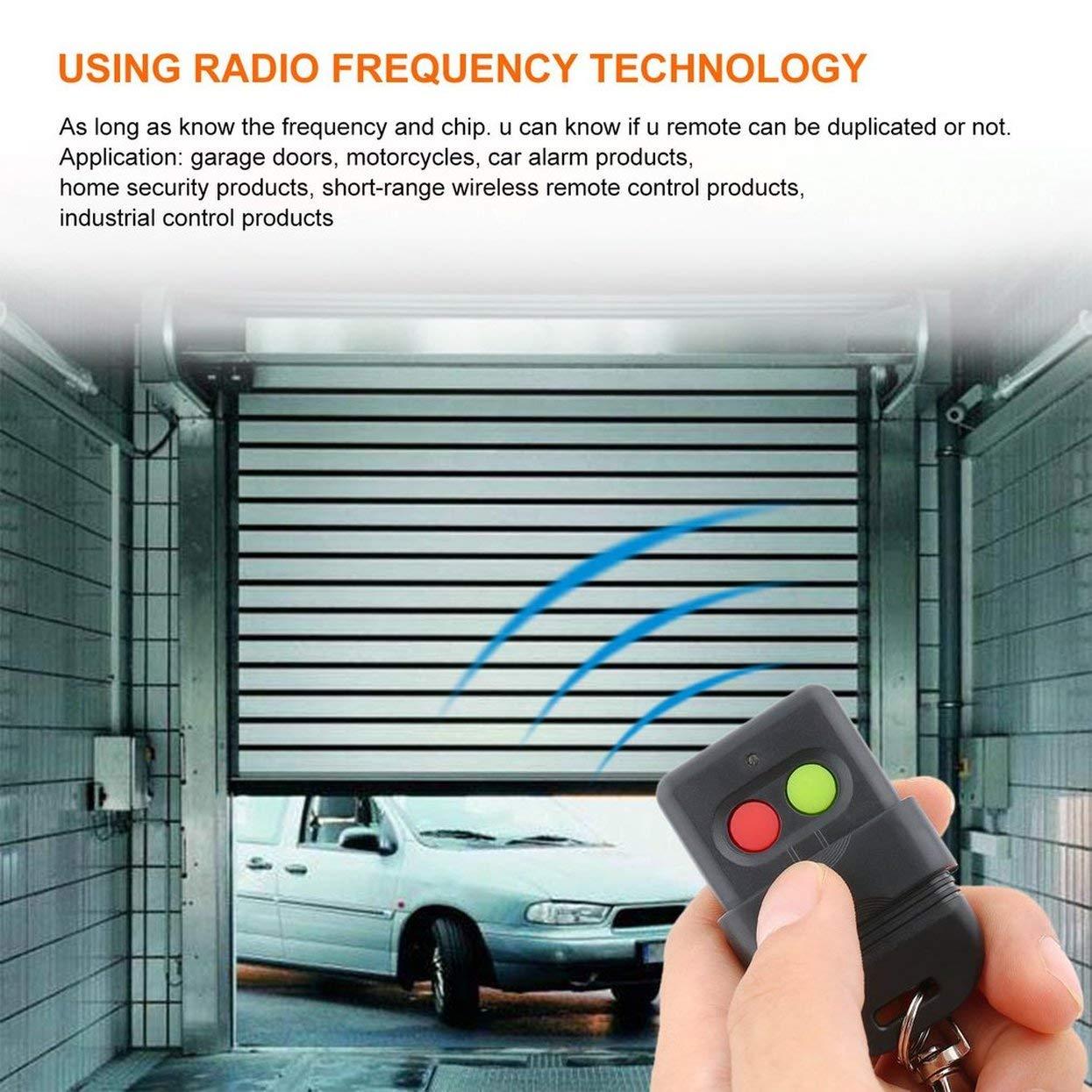 Duplicatore di copia del telecomando wireless per copia automatica 330MHz faccia a faccia Copia Privacy Garage Doors Key Auto Gate Doors Key