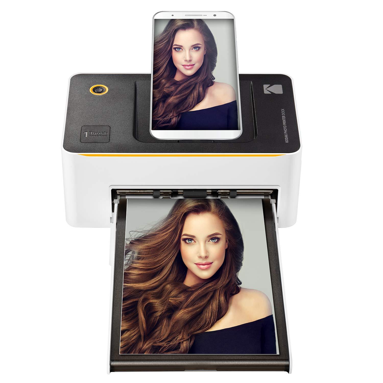 Kodak Dock & Wi-Fi Impresora fotográfica instantánea ...