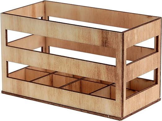 Santex 5699-43 - Soporte de 8 probetas de madera (11 cm): Amazon.es: Hogar