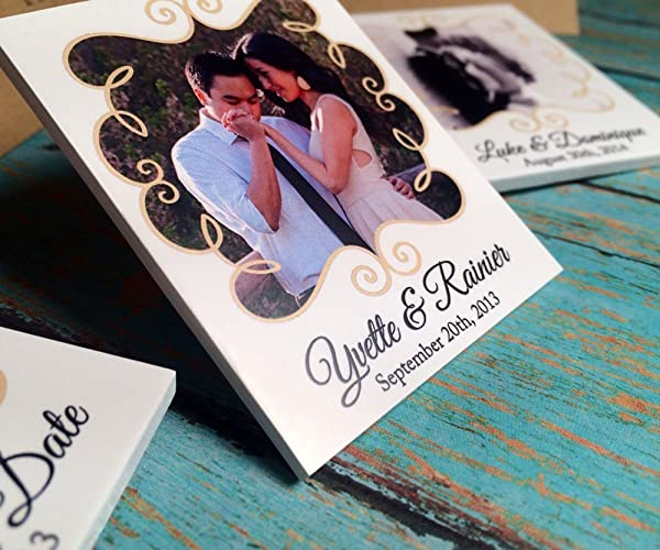 Amazon.com: 50 Handmade Save the Dates, Personalize with your Photos: Handmade