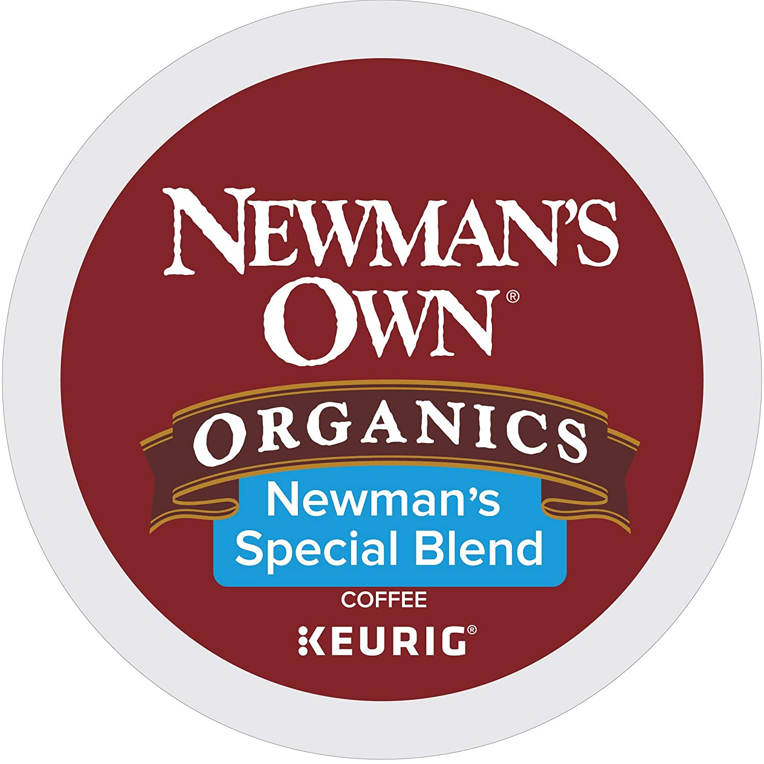 Newman's Own Organics Special Blend Keurig Single-Serve Medium Roast Coffee K-Cup Pods, 32 Count