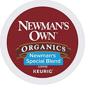 Newman's Own Organics Special Blend Keurig Single-Serve Medium Roast Coffee K-Cup Pods, 32 Count