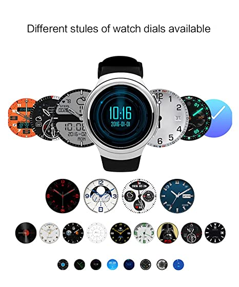 Amazon.com: Finow X3 ⌚ K9 reloj inteligente 3 G dual core ...