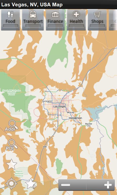 Amazon.com: Las Vegas, NV, USA Offline Map: PLACE STARS: Appstore ...