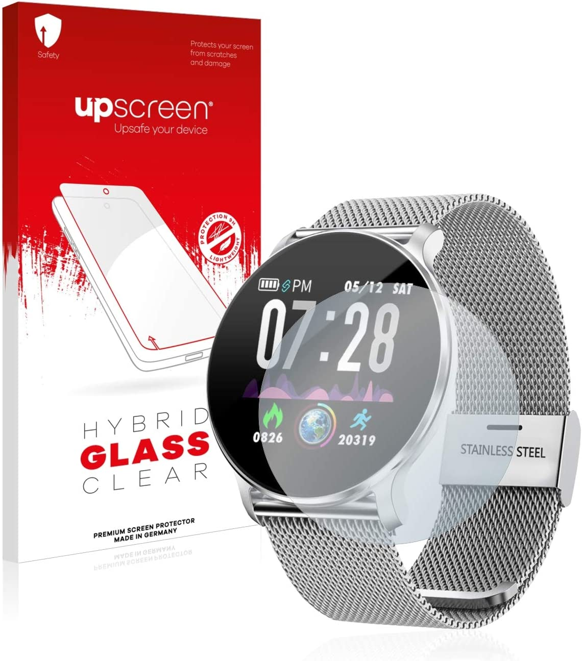 upscreen Protector Pantalla Cristal Templado Compatible con TagoBee TB11 Hybrid Glass – 9H Dureza
