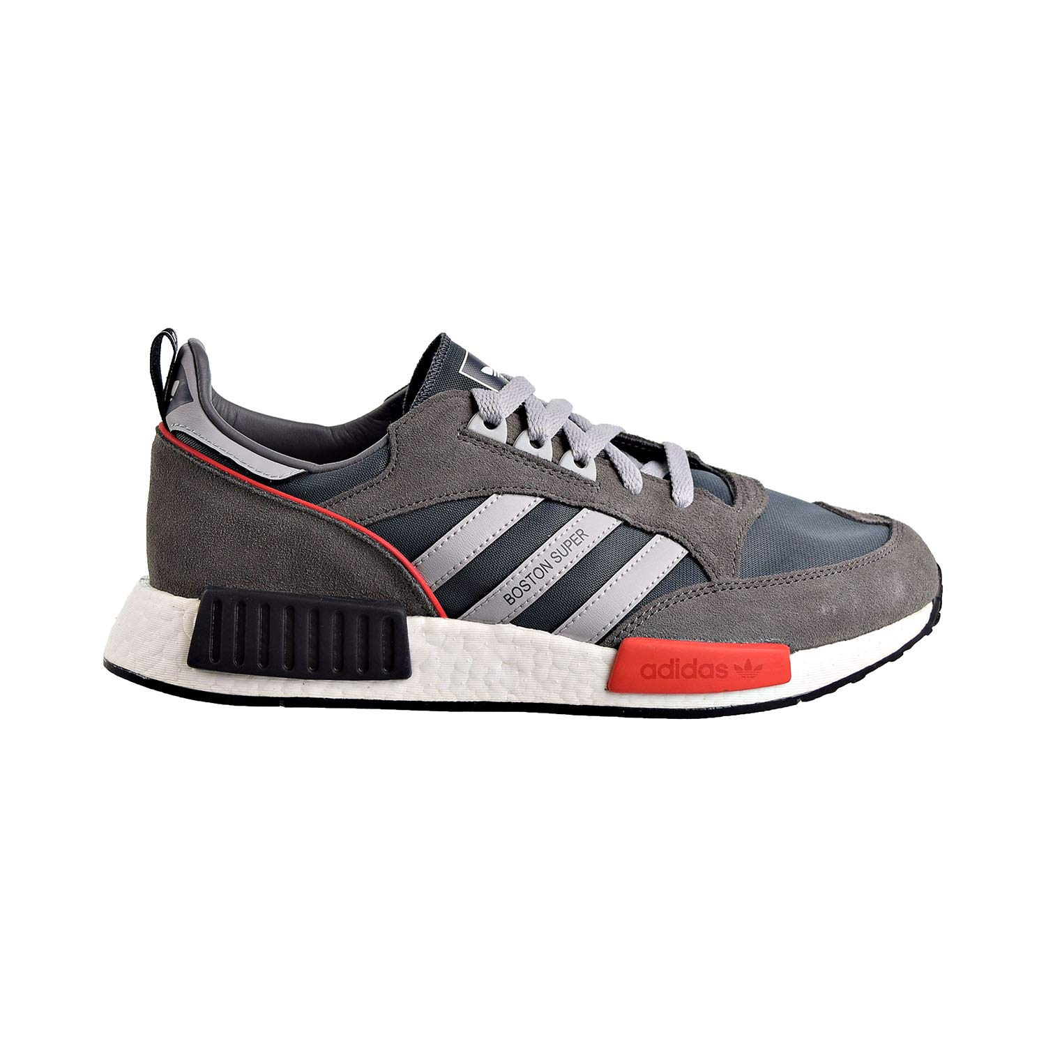 Image of adidas Boston Super X R1 Mens Shoes Bold Onix/Clear Onix/Cloud White g26776 Fashion Sneakers