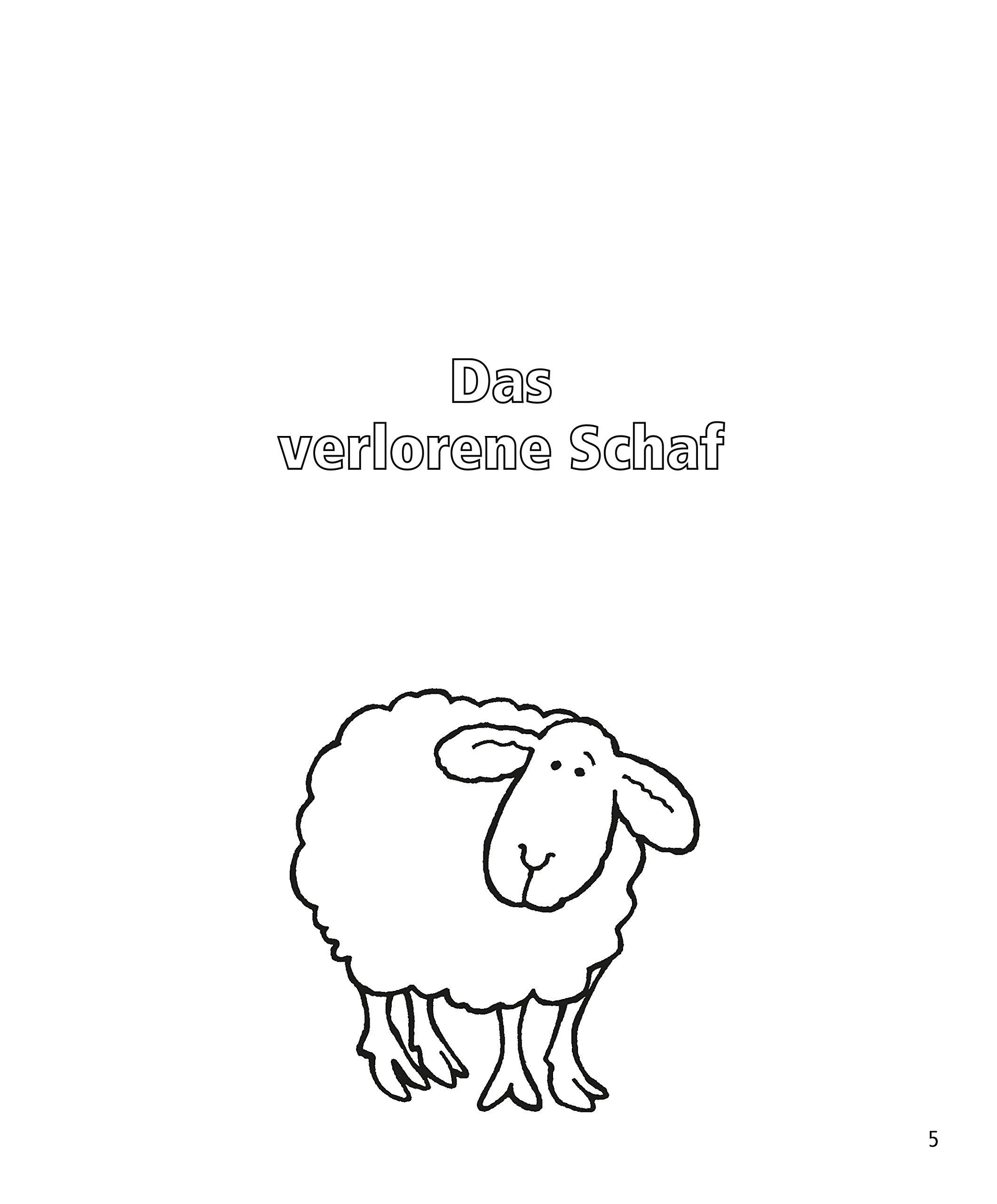 Erfreut Verlorene Schafe Malvorlagen Fotos - Malvorlagen Ideen ...