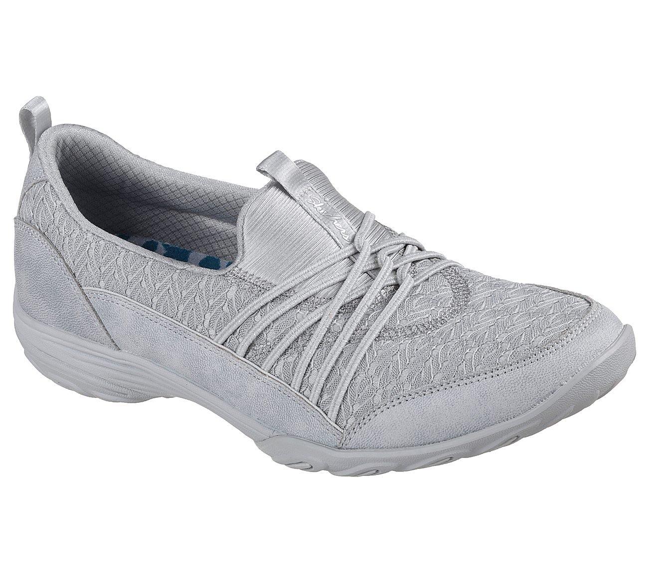 Skechers Women's Empress-Wide-Awake Sneaker B07B2XXG36 11 C/D US Light Gray