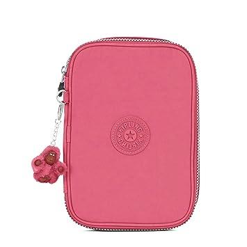 cdb73d82c Estojo Kipling 100 pen case - cor Desert rose (rosa claro): Amazon ...