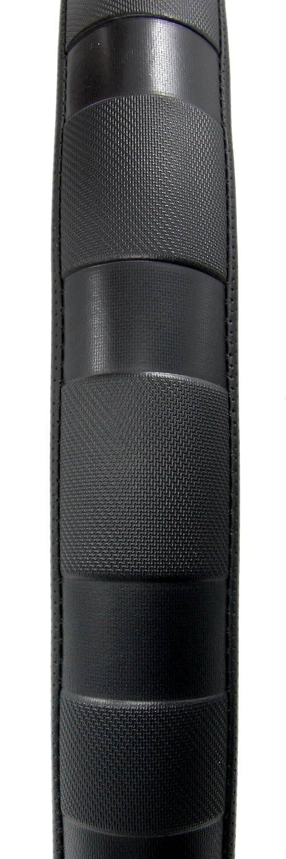 Black Geared Up GU-SWC-104 Steering Wheel Cover