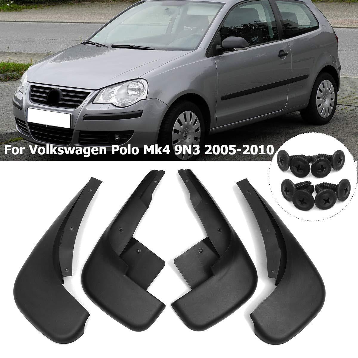 TAYDMEO Guardabarros de Coche,para VW Polo Mk4 9N3 2005-2009, 4 ...