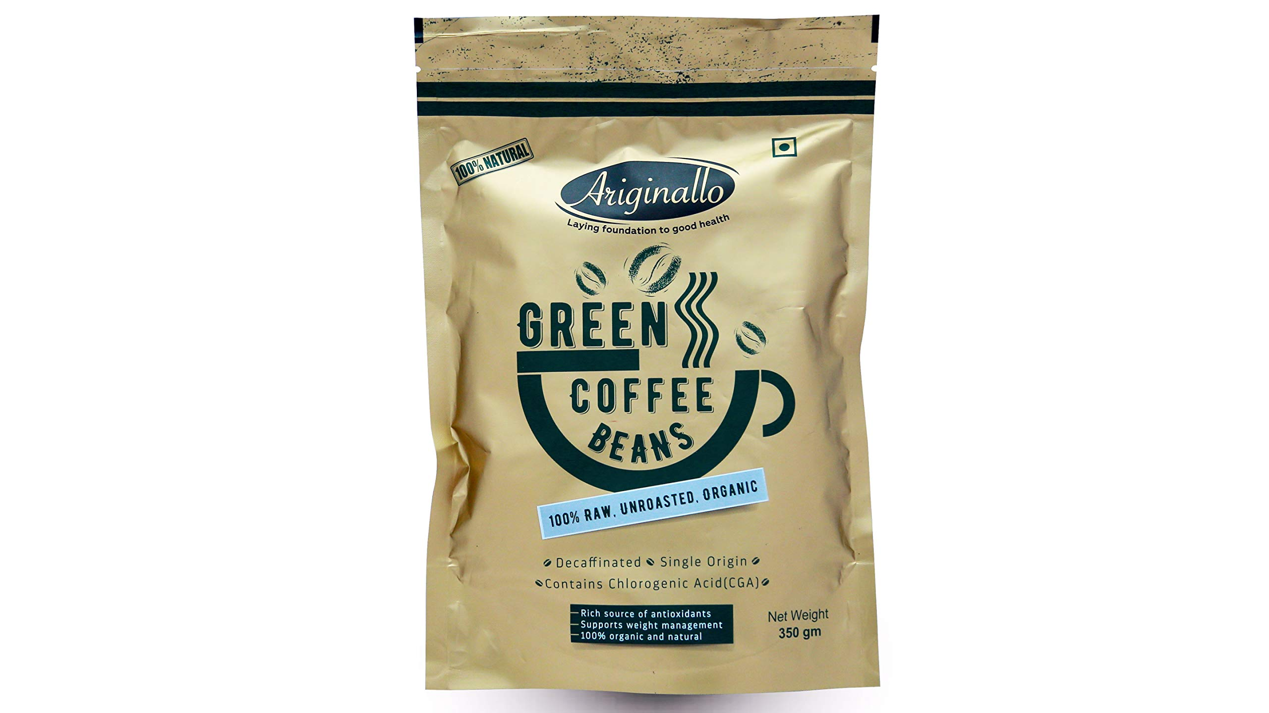 Ariginallo Green Coffee Beans For Weight Loss 350 G Buy Online