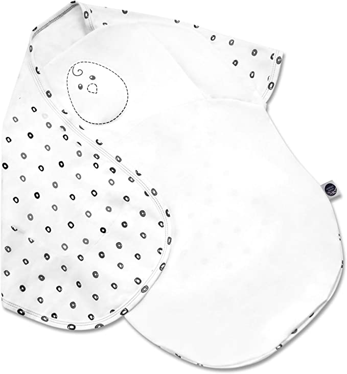Amazon.com: Nested Bean Zen Swaddle - Gently Weighted Swaddle | Baby: 0-6 Months | Cotton 100% | Helps to Reduce Moro (Startle) Reflex | Unisex | TOG 1.5 | Machine Washable: Kitchen & Dining
