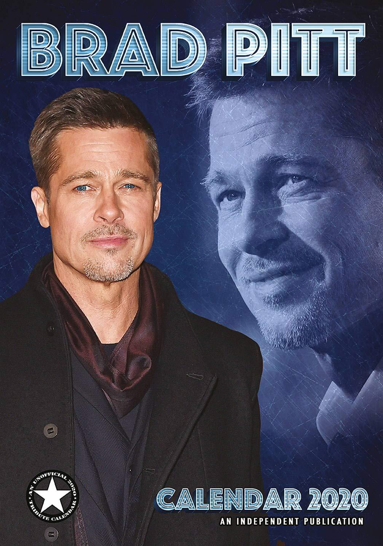 Pitt Calendar 2020 Brad Pitt Calendar   2019   2020 Wall Calendars   Celebrity