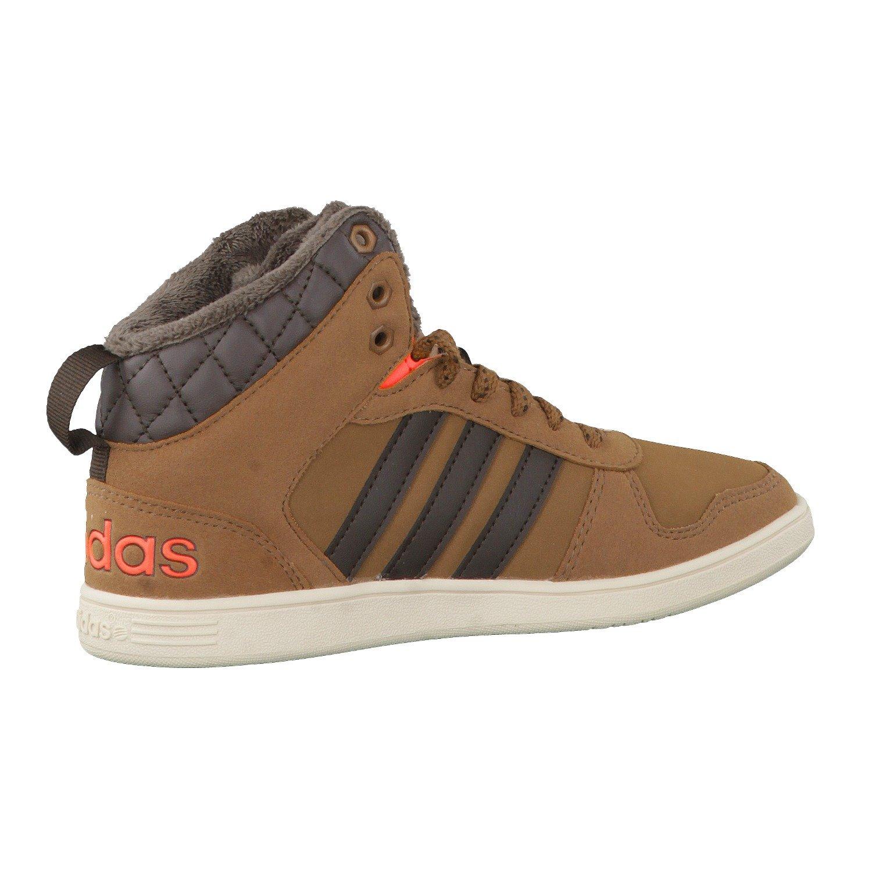 uk availability ce55e 42e3d ... best price adidas neo gefütterte kinderschuhe sneaker winterschuhe  boots hoops wtr mid k größeuk 4.5 37