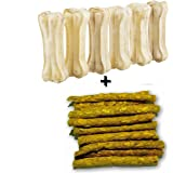 AGNpetSpot Dog Bone (3 Inch x 6 Pieces) and Munchies (Chicken)