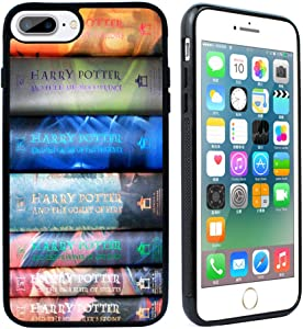 for iPhone 7 Plus Case,iPhone 8 Plus Case, Harry Potter Books Silicone Rubber Case Cover for iPhone 7 Plus / 8 Plus