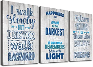 Motivational Quotes Wall Decor Canvas Art Prints Inspirational Motto Canvas Wall Art For Office Modern Wall Decorations For Living Room Kitchen Hang Pictures Artwork Bedroom Home Decoration Paintings