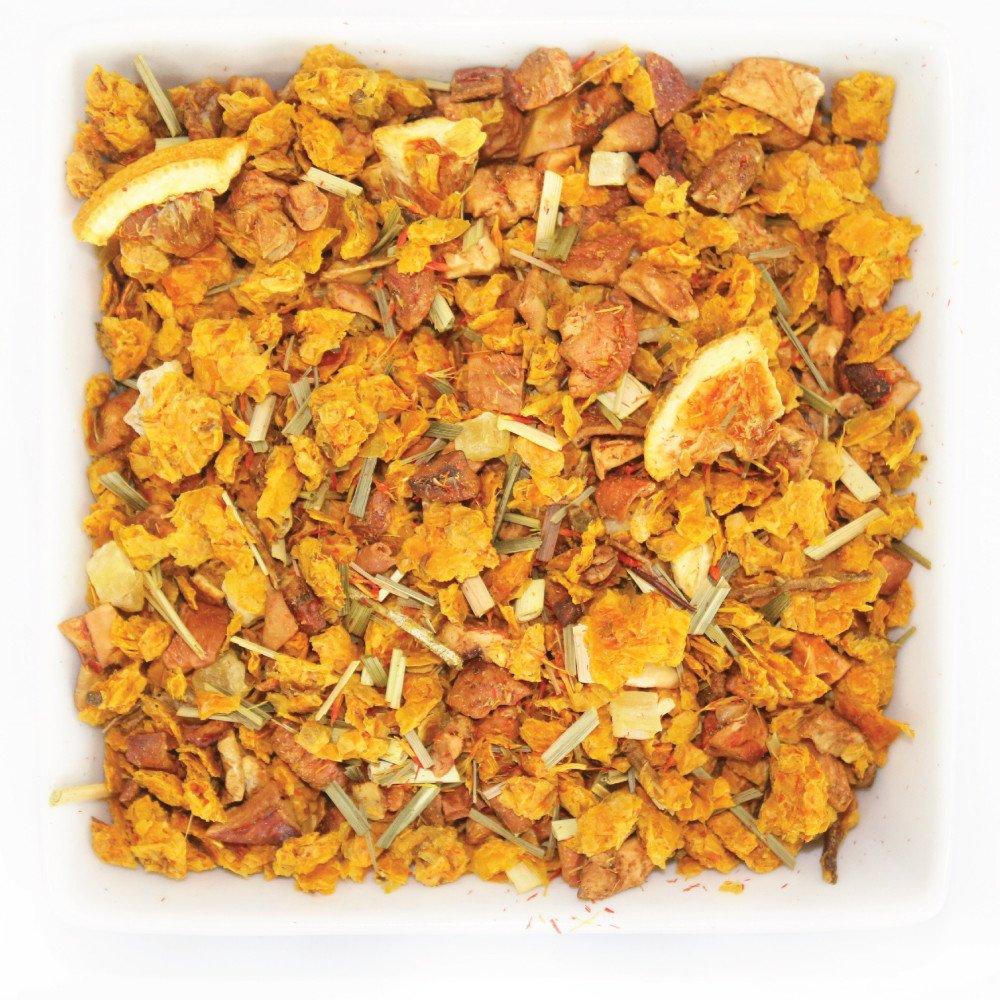 Tealyra - Sea Buckthorn Vibrant Glow - Pineapple - Orange - Lemongrass - Herbal Loose Leaf Tea - Vitamins Rich - Caffeine Free - 112g (4-ounce) by Tealyra (Image #1)