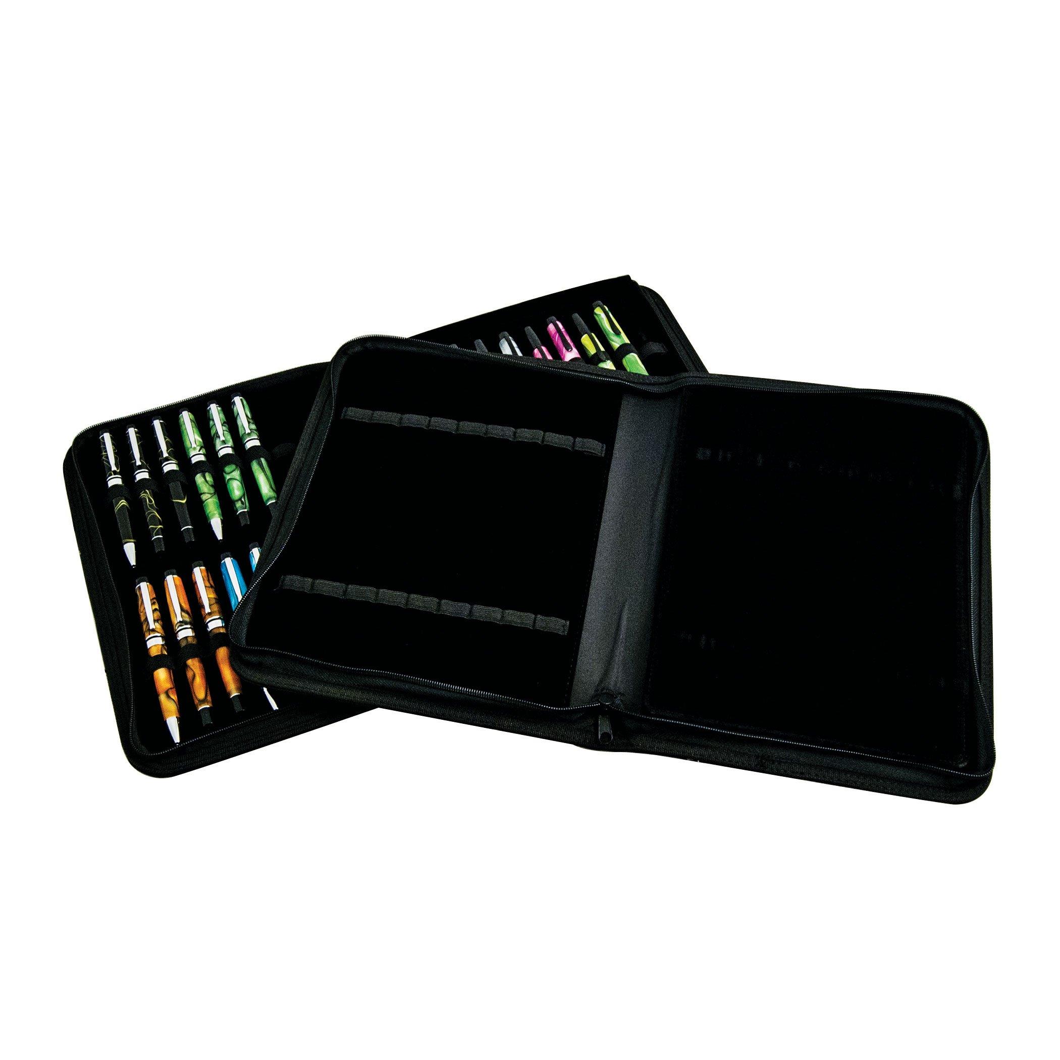 MONTEVERDE Monteverde 36 PC Zipper Pen Case; Black (1407) by Monteverde (Image #5)