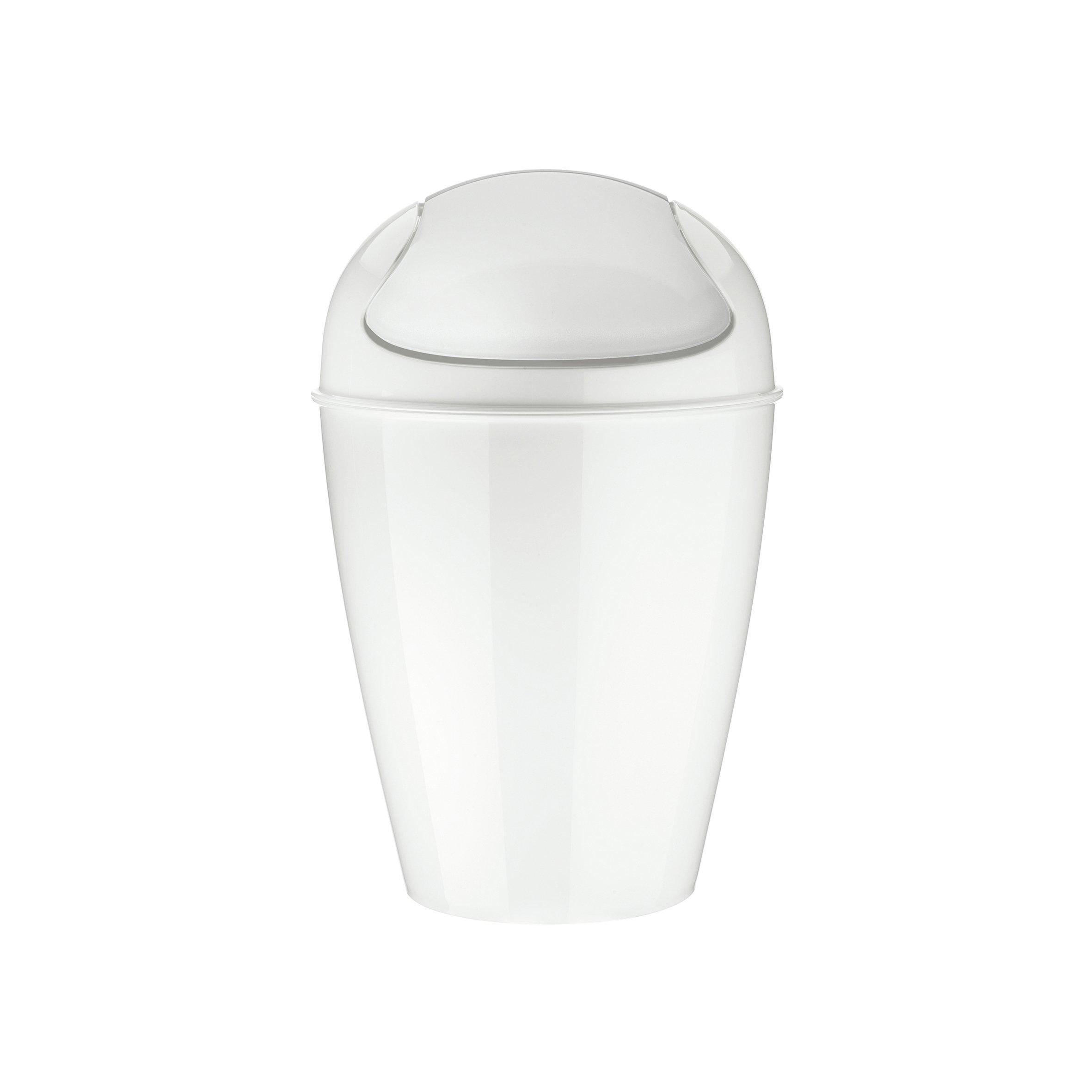 CDM product Koziol 5777525 DEL S Swing-Top 5 L Wastebasket big image