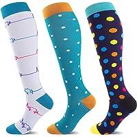 Calcetines de compresión para mujeres y hombres, calcetines de compresión para correr, protección del tobillo para…