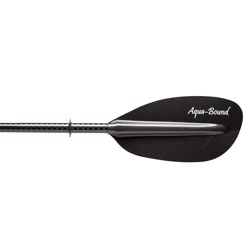 AQUA BOUND Whiskey Carbon Bent Shaft 2-Piece Kayak Paddle
