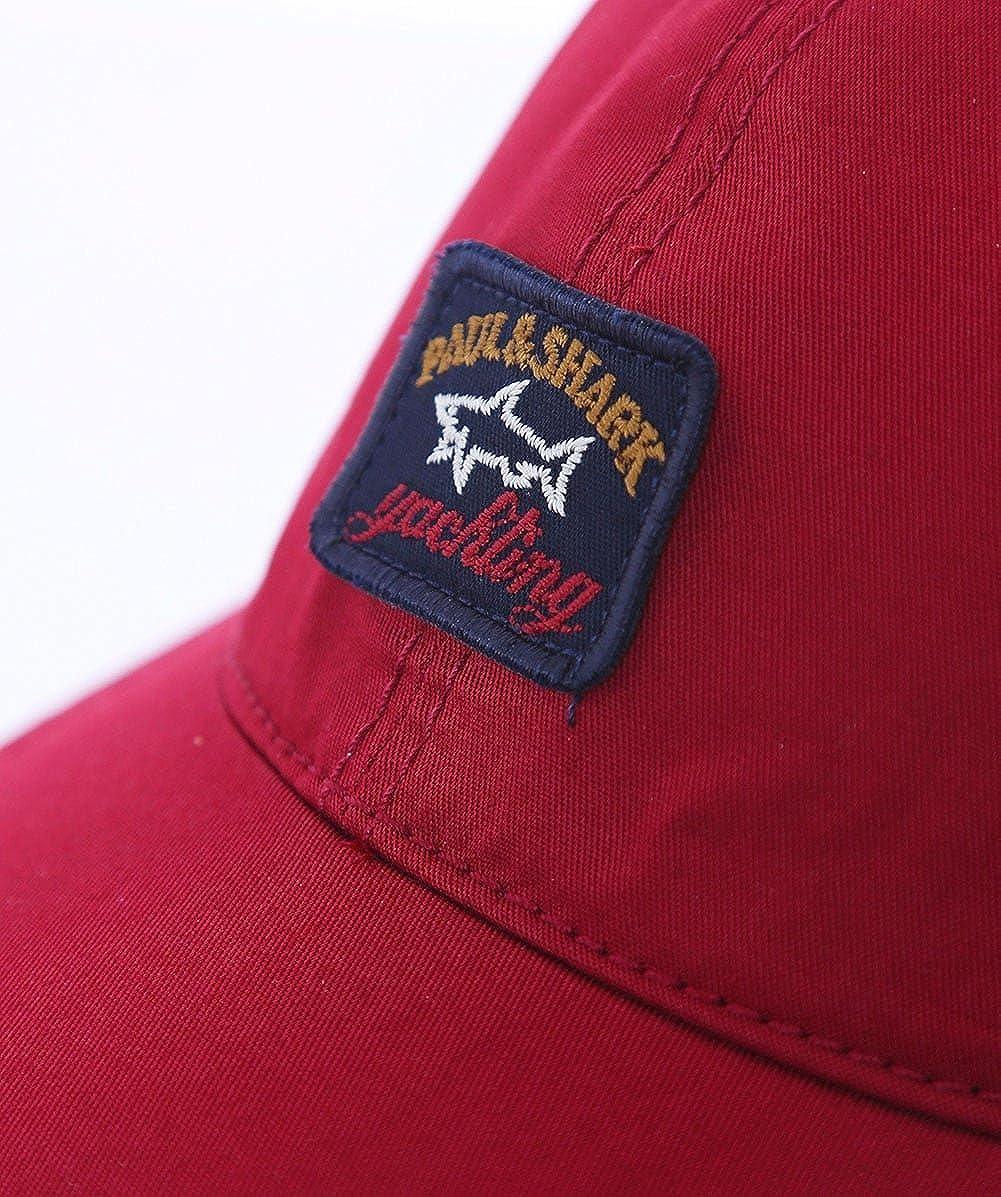 Paul /& Shark Red 6 Panel Baseball Cap