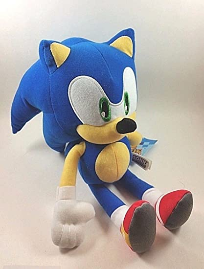 Amazon Com Super Sonic The Hedgehog Classic 11 5 Plush Toy Toys Games