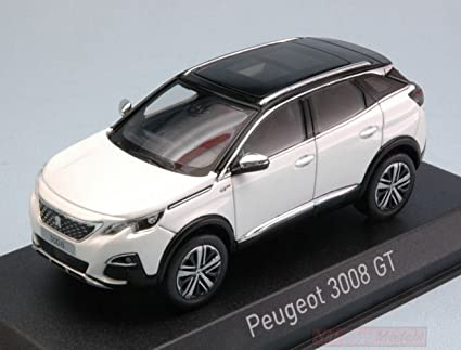 Norev Nv473883 Peugeot 3008 Gt 2016 Pearl White 1 43 Model Lino Die Cast Model Spielzeug