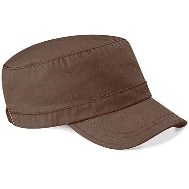 0cbb45a6cc Beechfield - Casquette style armée 100% coton: Amazon.fr: Vêtements et  accessoires