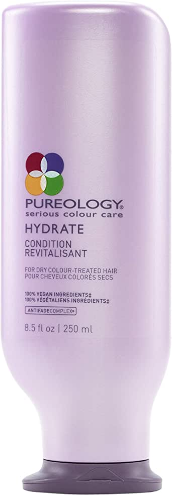 Pureology Hydrate Conditioner , multi, 8.5 fl oz (250 ml), ylang ylang, bergamot and patchouli, (Pack of 1)