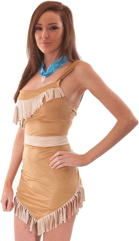 Disfraz de Pocahontas mujer. India. Indigena Americana. Disney ...