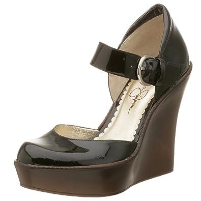 b2b18b0897b Jessica Simpson Women s Carrie Mary Jane Wedge Platform