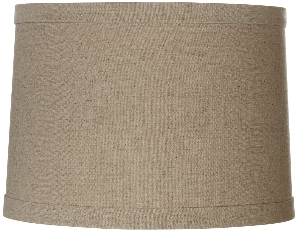 Springcrest Natural Linen Drum Shade 13x14x10 (Spider)