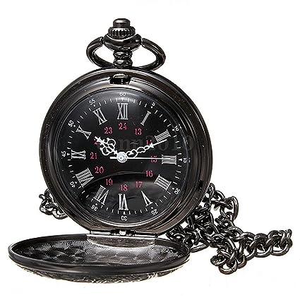 Reloj de bolsillo de collar - SODIAL(R)Reloj de bolsillo de colgant del