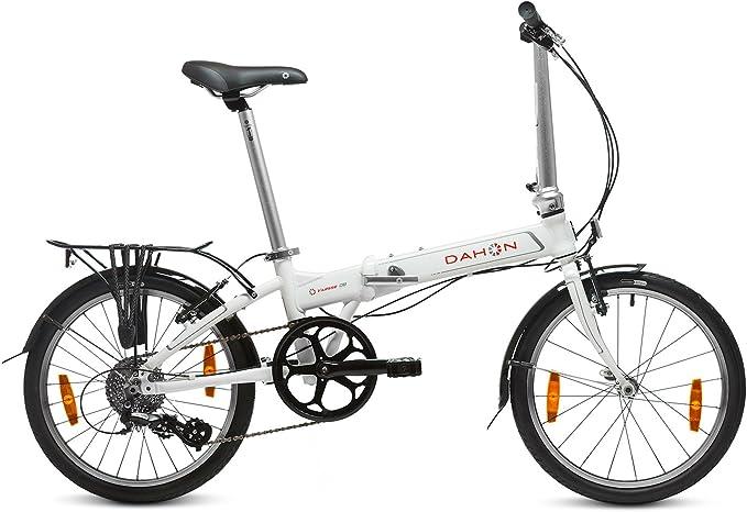 Dahon Vitesse D8 Bicicleta Plegable, Unisex Adulto, Blanco Cloud ...